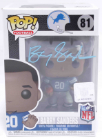 Barry Sanders Signed Lions #81 Funko Pop! Vinyl Figure (Beckett COA) at PristineAuction.com