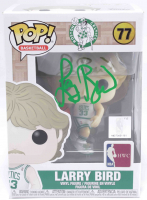 Larry Bird Signed Celtics #77 Funko Pop! Vinyl Figure (Beckett COA) at PristineAuction.com