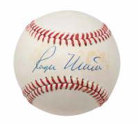 Roger Maris Signed OL Baseball (JSA LOA & PSA LOA - Graded 7) at PristineAuction.com