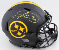 Hines Ward Signed Steelers Full-Size Authentic On-Field Eclipse Alternate Speed Helmet (Beckett COA) at PristineAuction.com
