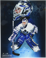"Felix Potvin Signed Maple Leafs 16x20 Photo Inscribed ""The Cat"" (COJO COA) at PristineAuction.com"