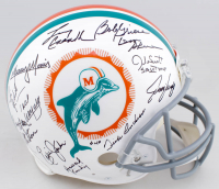1972 Dolphins Full-Size Authentic On-Field Helmet Team-Signed by (27) with Don Shula, Bob Griese, Dick Anderson, Jake Scott (JSA COA) at PristineAuction.com