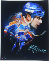 "Paul Coffey Signed LE 16x20 Photo Inscribed ""H.O.F. 04"" (COJO COA) at PristineAuction.com"
