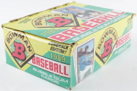 """1989 Bowman """"Comeback Edition"""" Bubble Gum Baseball Cards with (36) Packs at PristineAuction.com"""