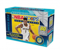 2019-20 Panini Hoops Premium Stock Basketball Mega Box with (80) Cards at PristineAuction.com