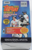 2002 Topps Series 1 Baseball Card Box with (30) Packs at PristineAuction.com