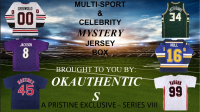 OKAUTHENTICS Multisport & Celebrity Jersey Mystery Box - Series VIII at PristineAuction.com
