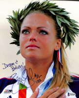 "Jennie Finch Signed Team USA 8x10 Photo Inscribed ""Dream & Believe!"" & ""USA"" (Beckett COA) at PristineAuction.com"