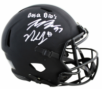 "Joey Bosa & Nick Bosa Signed Ohio State Buckeyes Full-Size Authentic On-Field Speed Helmet Inscribed ""Bosa Bros"" (Beckett Hologram) at PristineAuction.com"