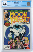 """1980 """"Moon Knight"""" Issue #1 Marvel Comic Book (CGC 9.6) at PristineAuction.com"""