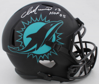 "Dan Marino Signed Dolphins Full-Size Eclipse Alternate Speed Helmet Inscribed ""HOF 05"" (JSA COA) at PristineAuction.com"
