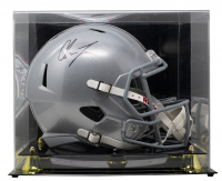 Chase Young Signed Ohio State Buckeyes Full-Size Speed Helmet With Display Case (Fanatics Hologram) at PristineAuction.com