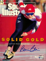 Bonnie Blair Signed 1992 Sports Illustrated Magazine Cover Page (Beckett COA) at PristineAuction.com