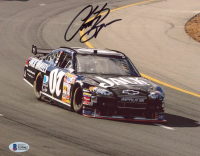 Clint Bowyer Signed NASCAR 8x10 Photo (Beckett COA) at PristineAuction.com