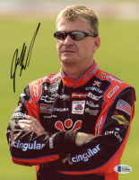 Jeff Burton Signed NASCAR 8x10 Photo (Beckett COA) at PristineAuction.com