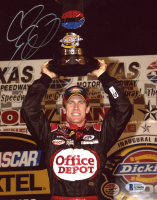 Carl Edwards Signed NASCAR 8x10 Photo (Beckett COA) at PristineAuction.com