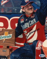Dale Jarrett Signed NASCAR 8x10 Photo (Beckett COA) at PristineAuction.com