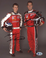 Kasey Kahne & Jeremy Mayfield Signed NASCAR 8x10 Photo (Beckett COA) at PristineAuction.com