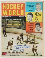 "Bobby Hull Signed 1970 Hockey World Magazine Inscribed ""HOF 1983"" (YSMS COA) at PristineAuction.com"