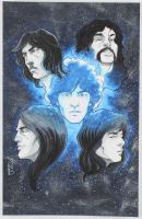 Tom Hodges - Pink Floyd - Signed 11x17 ORIGINAL Artwork (PA COA) at PristineAuction.com