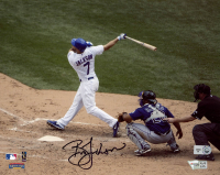 Brett Jackson Signed Cubs 8x10 Photo (MLB Hologram & Fanatics Hologram) at PristineAuction.com