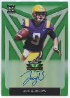 Joe Burrow 2020 Leaf Valiant All American Green #AAJB1 Autograph RC #50/75 at PristineAuction.com