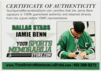 Jamie Benn Signed Jersey (Benn COA) at PristineAuction.com