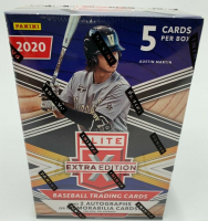 2020 Panini Elite Extra Edition Baseball Blaster Box with (5) Cards at PristineAuction.com