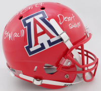 "Lance Briggs Signed Arizona Wildcats Full-Size Helmet Inscribed ""3X All Pac 10"" & ""Desert Swarm"" (Beckett COA) at PristineAuction.com"