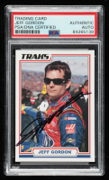 Jeff Gordon Signed 2006 TRAKS #9 (PSA Encapsulated) at PristineAuction.com