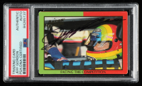 Jeff Gordon Signed 1994 Action Packed Champ and Challenger #4 (PSA Encapsulated) at PristineAuction.com