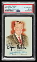 Regis Philbin Signed 2010 Topps Allen and Ginter #277 (PSA Encapsulated) at PristineAuction.com