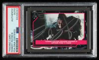 Robert Patrick Signed 1991 Terminator II #119 Terminator Drags Himself (PSA Encapsulated) at PristineAuction.com