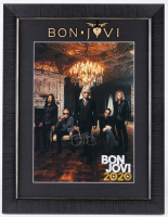 "Jon Bon Jovi Signed ""Bon Jovi 2020"" 20.5x26.5 Custom Framed Poster Display (JSA COA) at PristineAuction.com"