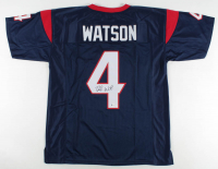 Deshaun Watson Signed Jersey (Beckett COA) at PristineAuction.com