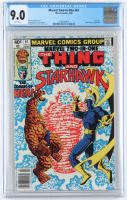 "1979 ""Marvel Two-In-One: The Thing And Starhawk"" Issue #61 Marvel Comic Book (CGC 9.0) at PristineAuction.com"