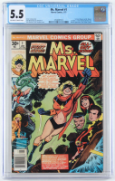 "1977 ""Ms. Marvel"" Issue #1 Marvel Comic Book (CGC 5.5) at PristineAuction.com"