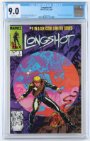 "1985 ""Longshot"" Issue #1 Marvel Comic Book (CGC 9.0) at PristineAuction.com"
