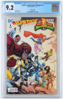 "2017 ""Justice League/Power Rangers"" Issue #1 Boom! Studios/DC Comic Book (CGC 9.2) at PristineAuction.com"