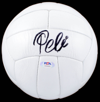 Pele Signed Soccer Ball (PSA COA) at PristineAuction.com