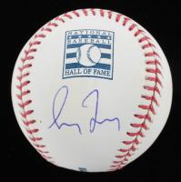 Greg Maddux Signed Hall of Fame Logo OML Baseball (JSA COA) at PristineAuction.com