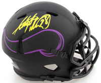 Adrian Peterson Signed Vikings Eclipse Alternate Speed Mini-Helmet (Beckett COA) at PristineAuction.com