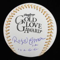 "Roberto Alomar Signed Gold Glove Award Baseball Inscribed ""10x GG"" (JSA COA) at PristineAuction.com"