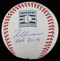 """Tom Glavine Signed OML Hall of Fame Logo Baseball Inscribed """"HOF 2014"""" (JSA COA) at PristineAuction.com"""