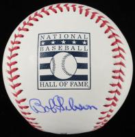 Bob Gibson Signed OML Hall of Fame Logo Baseball (PSA COA) at PristineAuction.com