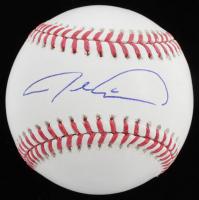 Jacob deGrom Signed OML Baseball (MLB Hologram & Fanatics Hologram) at PristineAuction.com