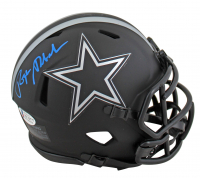 Roger Staubach Signed Cowboys Eclipse Alternate Speed Mini Helmet (Beckett COA) at PristineAuction.com