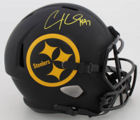 Cameron Heyward Signed Steelers Full-Size Eclipse Alternate Speed Helmet (Beckett COA) at PristineAuction.com