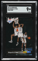 Shaquille O'Neal 1992-93 Upper Deck #1B TRADE (SGC 9) at PristineAuction.com