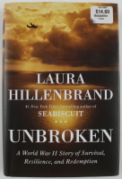 "Louis Zamperini Signed ""Unbroken"" Hardcover Book Inscribed ""To The Soldiers Be Hardy"" (Beckett COA) at PristineAuction.com"